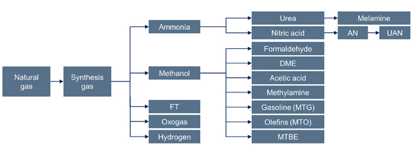from_natural_gas_to_petrochemical_products